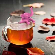 Teefilter in Elefantform