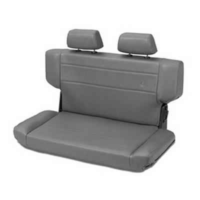Bestop Trailmax II Fold and Tumble Rear Seat (Gray) - 39435-09