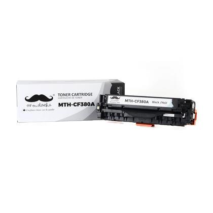 Compatible HP 312A CF380A Black Toner Cartridge