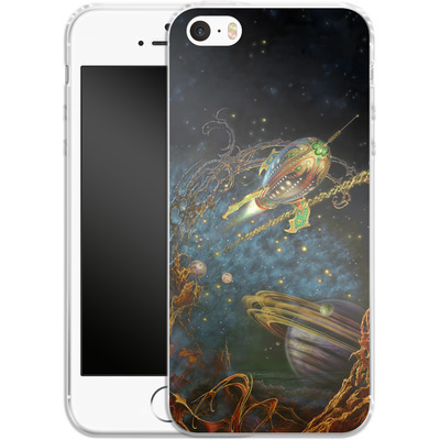 Apple iPhone 5s Silikon Handyhuelle - Myles Pinkeney - The Archway von TATE and CO
