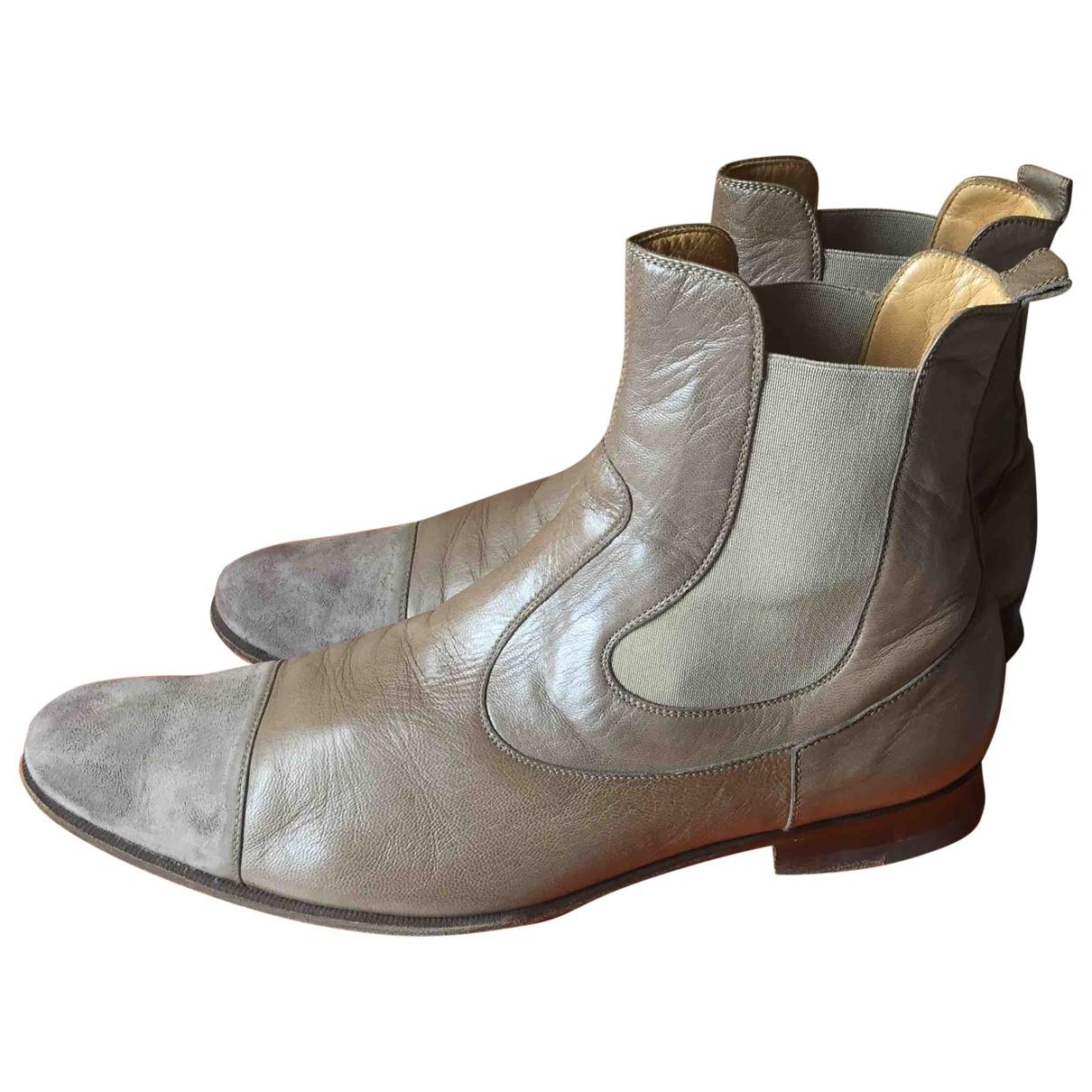 Botas de Cuero Hermes