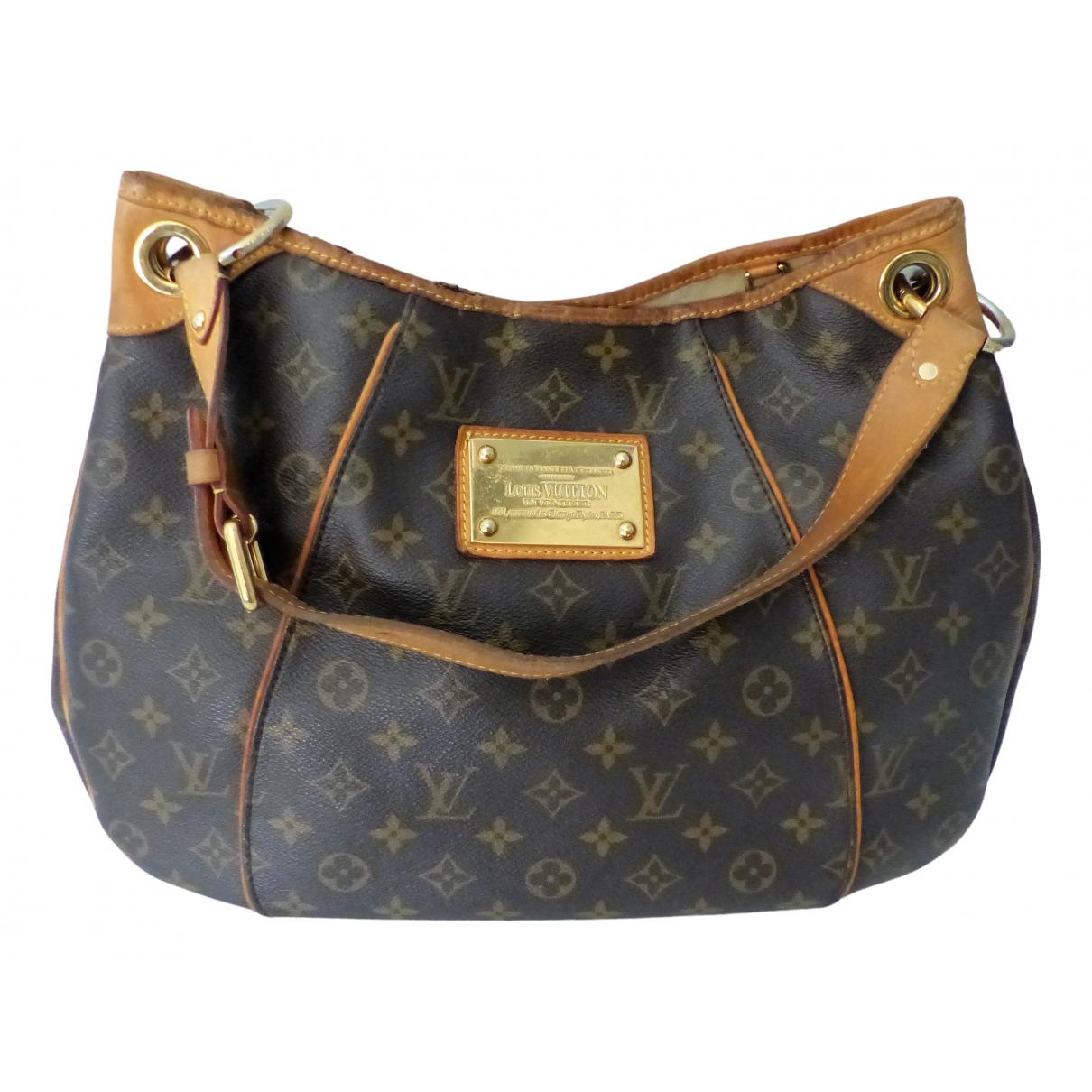 Louis Vuitton - Sac a main Galliera pour femme en toile - marron