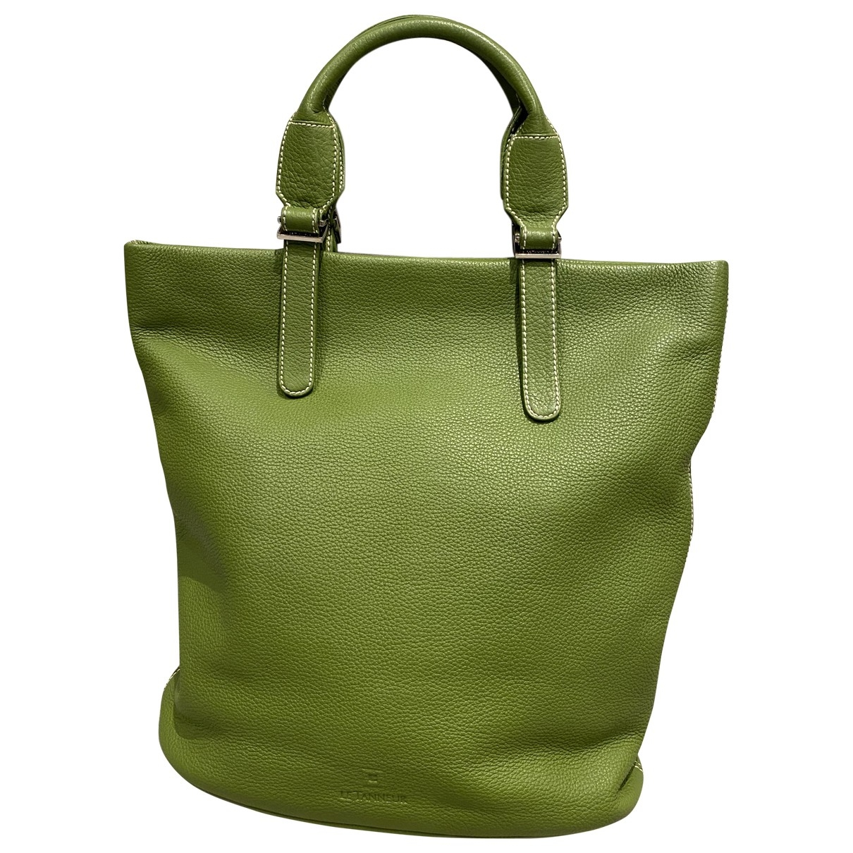 Le Tanneur \N Green Leather handbag for Women \N