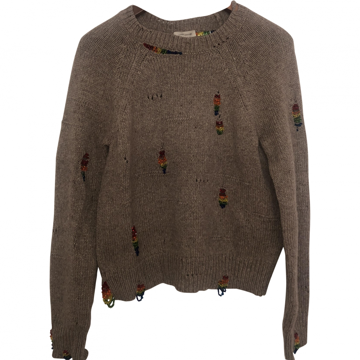 Marc Jacobs \N Pullover in  Beige Wolle