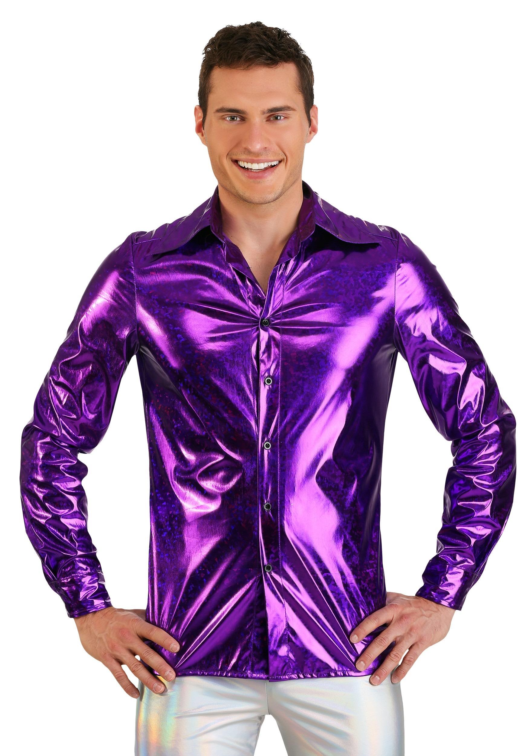 Shattered Glass Men's Disco Shirt