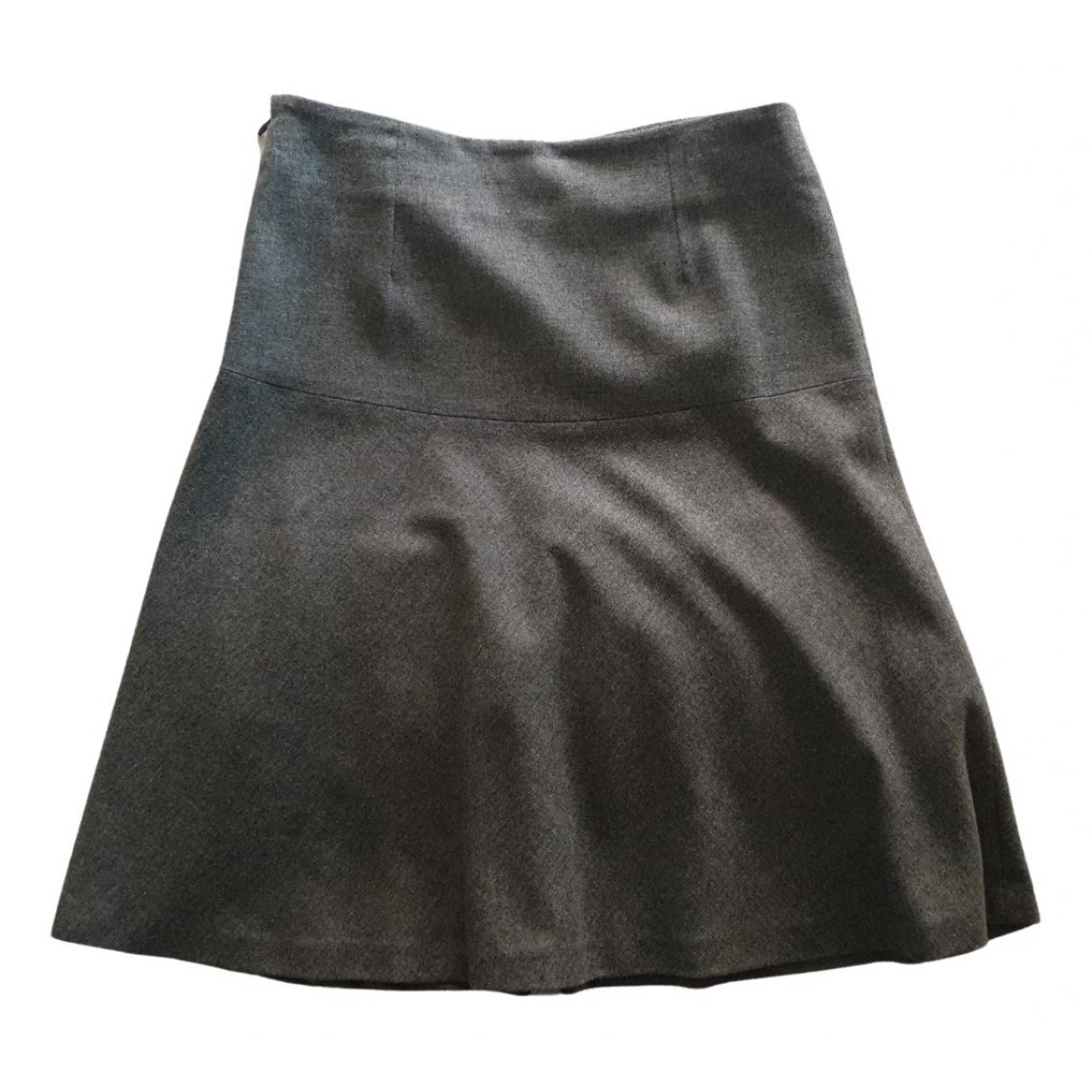 Massimo Dutti \N Rocke in  Grau Wolle