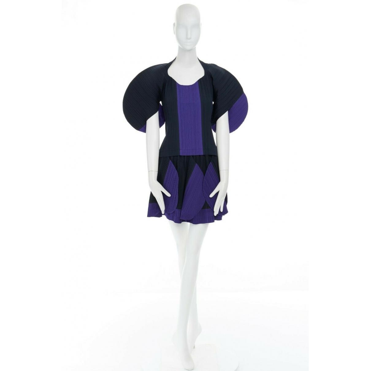 Issey Miyake \N Navy dress for Women 32 FR