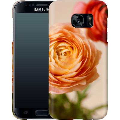 Samsung Galaxy S7 Smartphone Huelle - She Loved Flowers von Joy StClaire