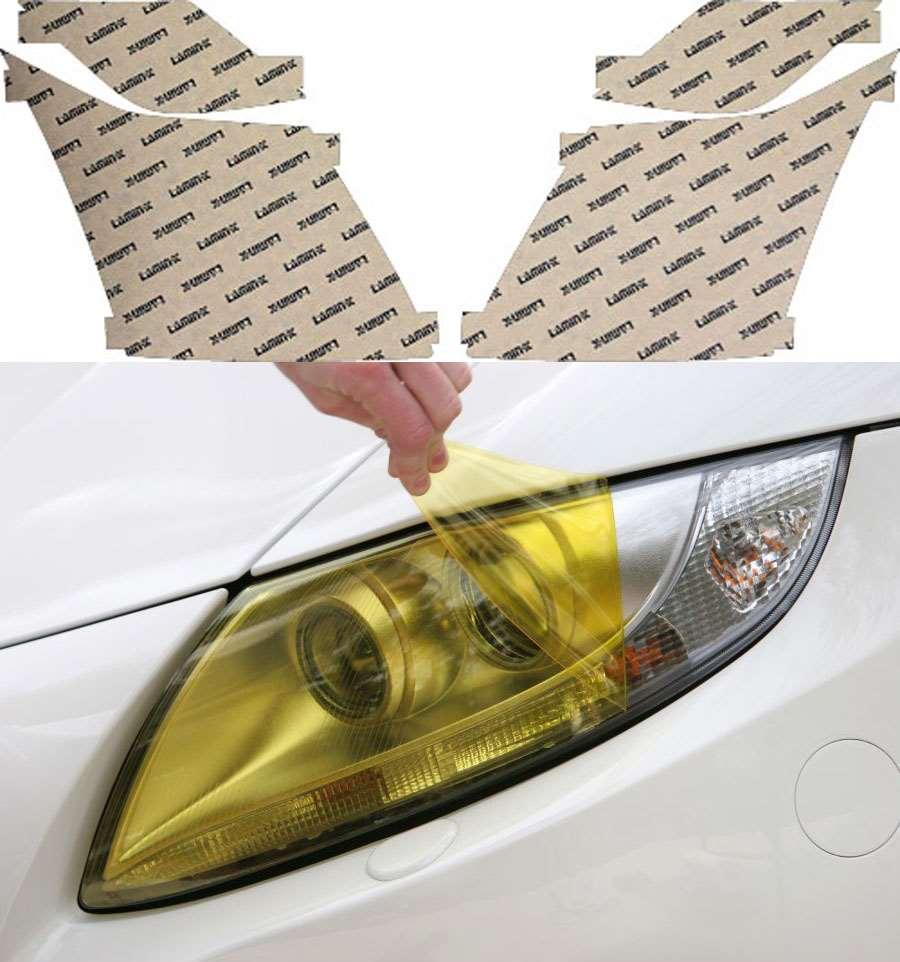 Cadillac CTS 08-13 Yellow Headlight Covers Lamin-X CD011Y