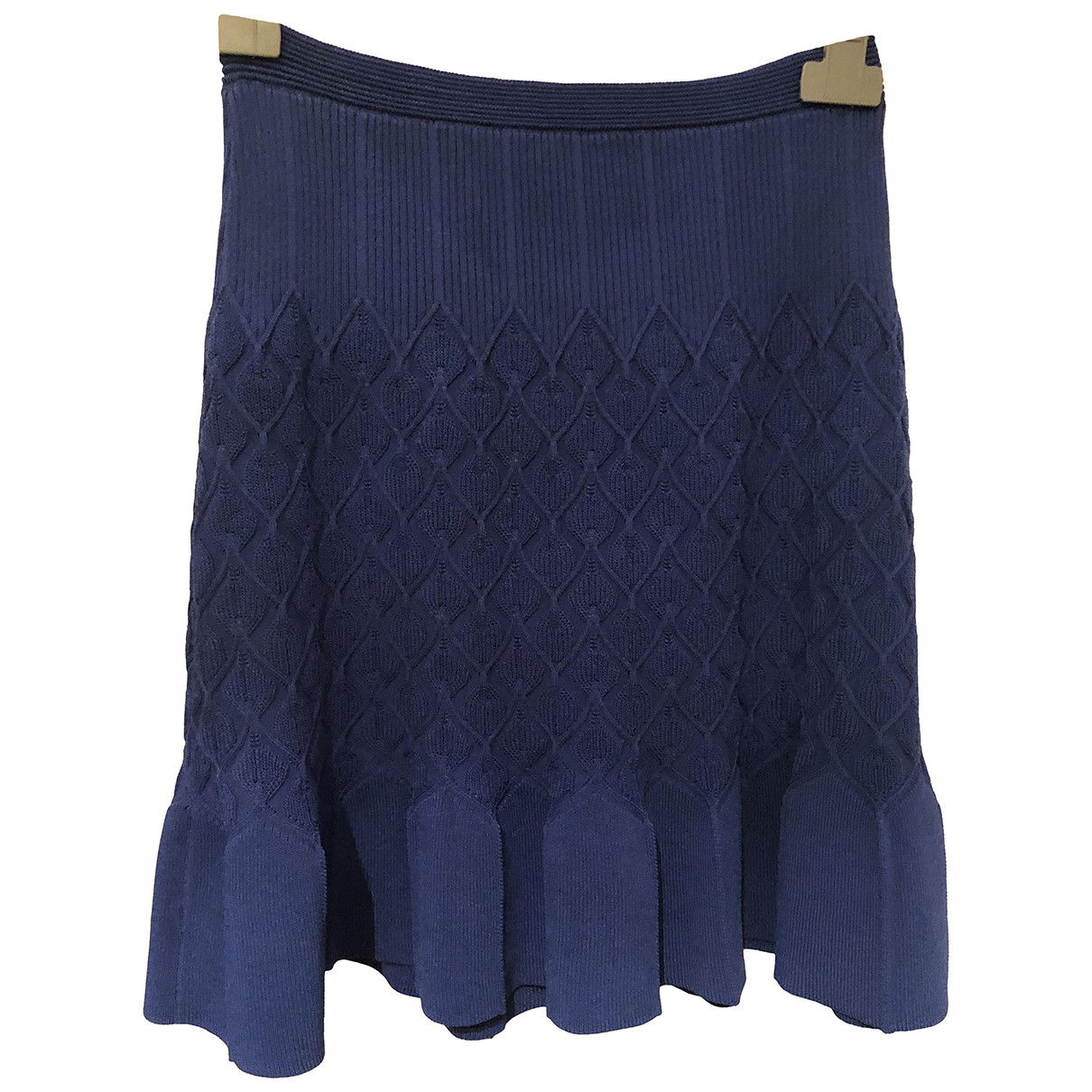 Sandro N Blue skirt for Women 1 0-5