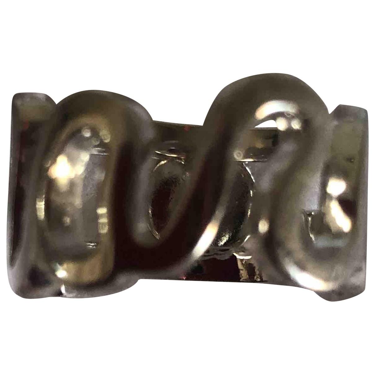 Marc By Marc Jacobs \N Ring in  Silber Versilbert