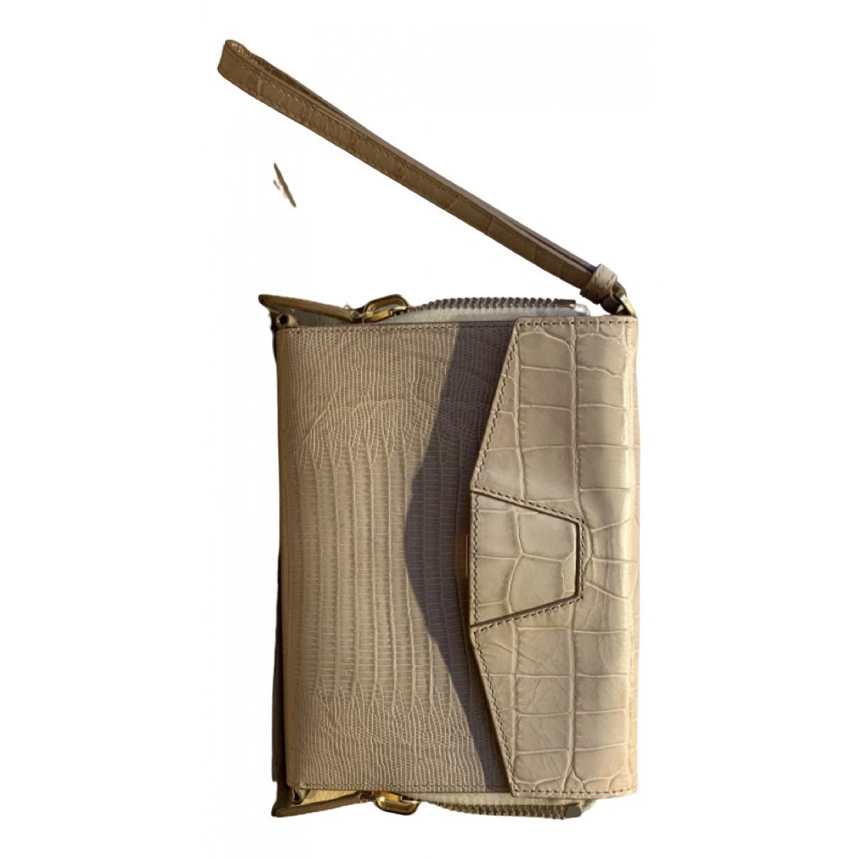 Alexander Wang N Beige Leather Clutch bag for Women N