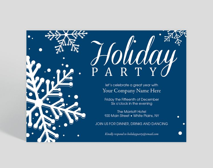 Save the Date Holiday Party Invitation - Greeting Cards