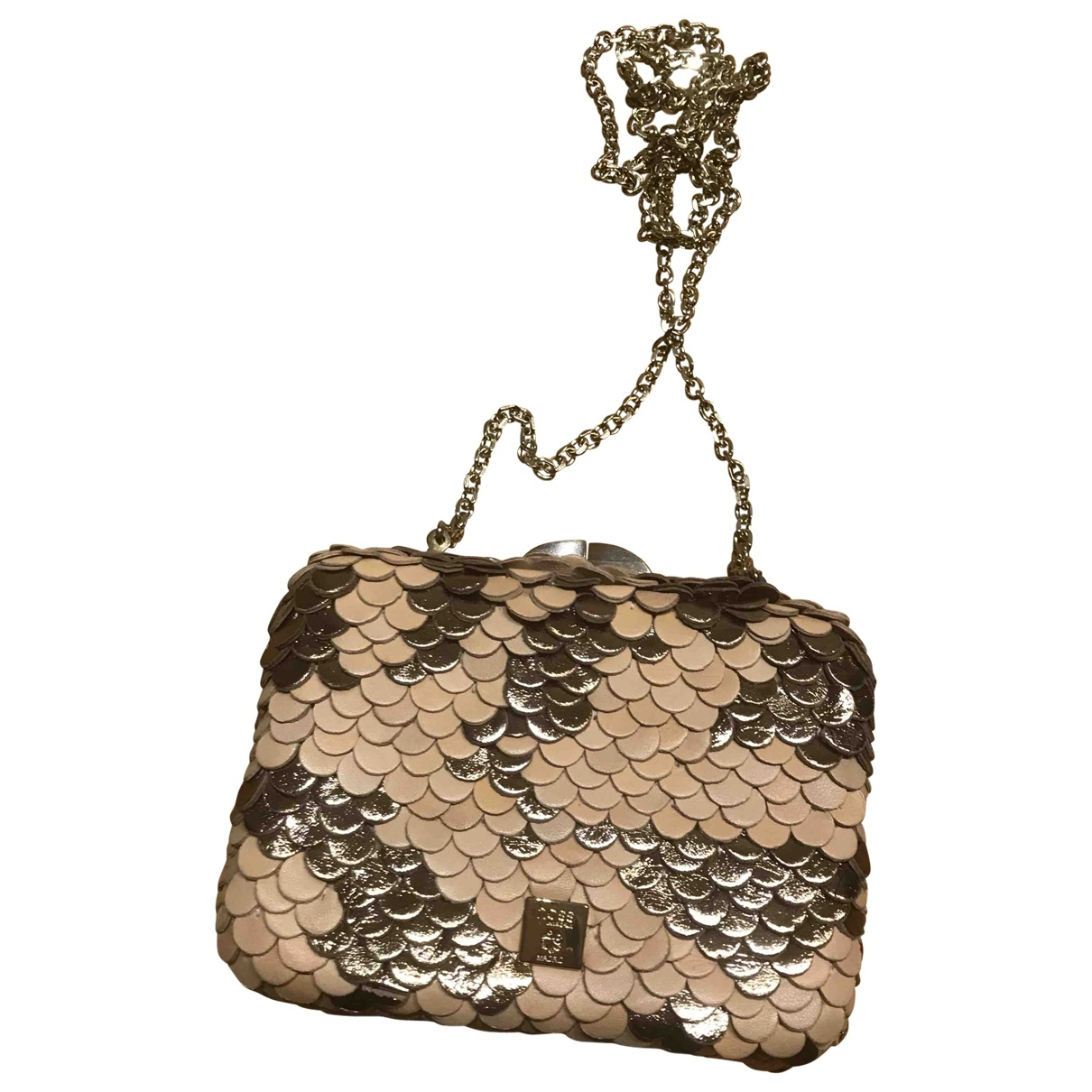 Hoss Intropia \N Clutch in  Beige Leder
