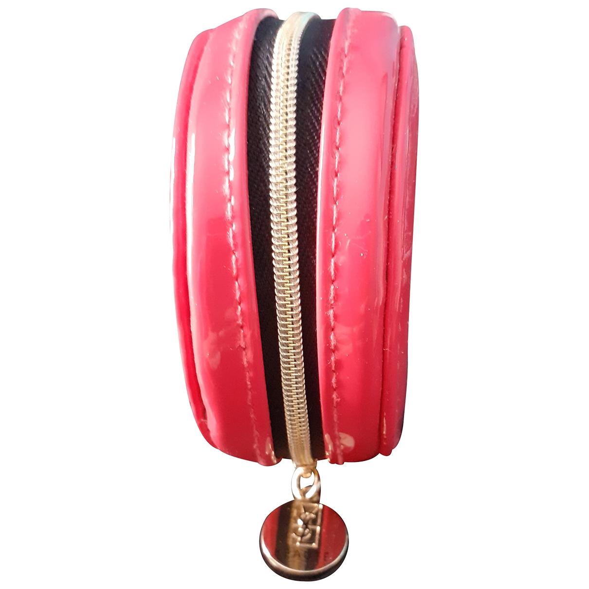 Bolsos clutch en Plastico Rosa Yves Saint Laurent