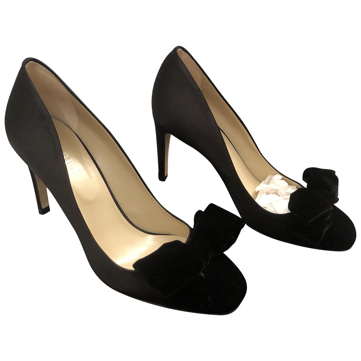 Hobbs - Escarpins   pour femme en velours - noir