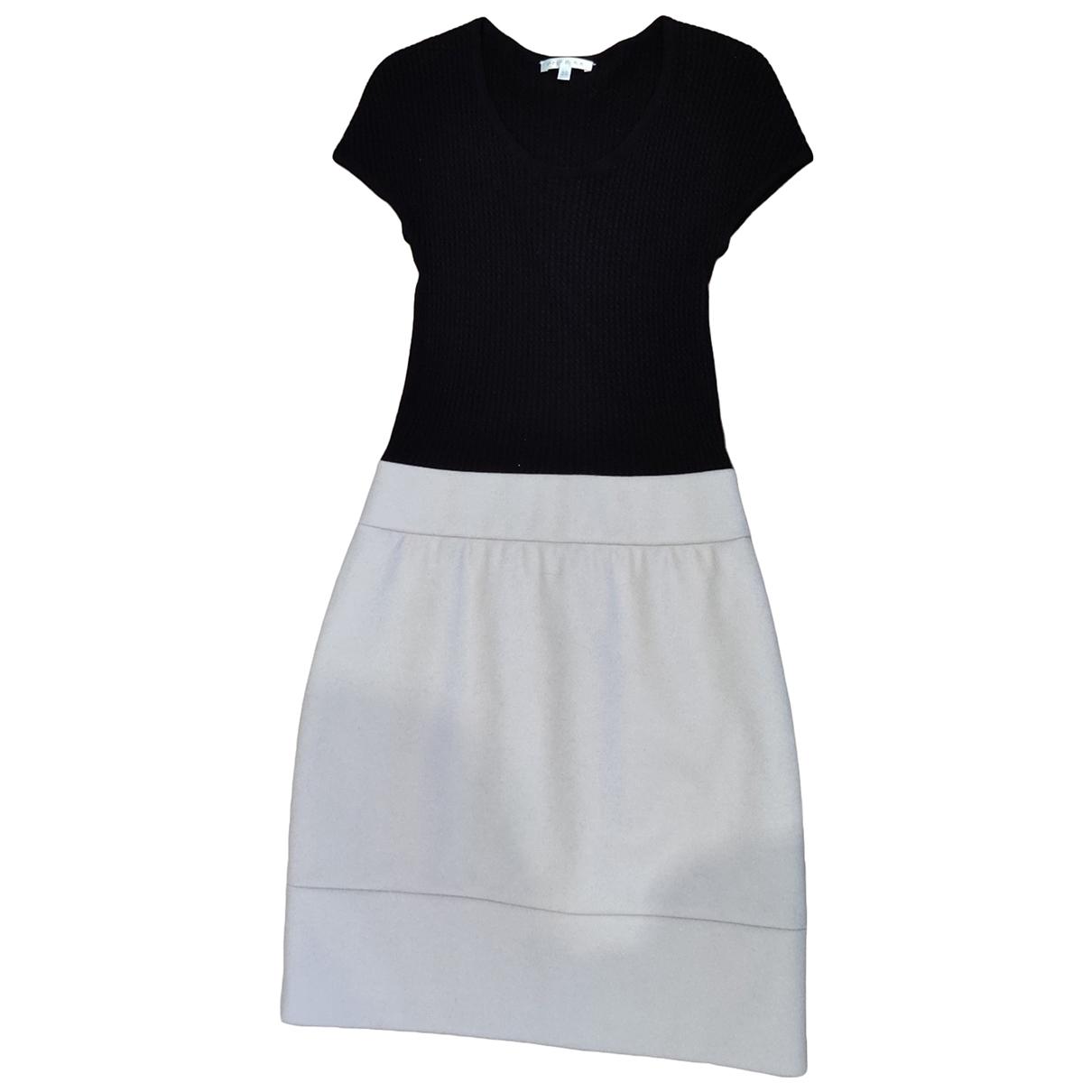 Paule Ka \N Black Wool dress for Women 36 FR