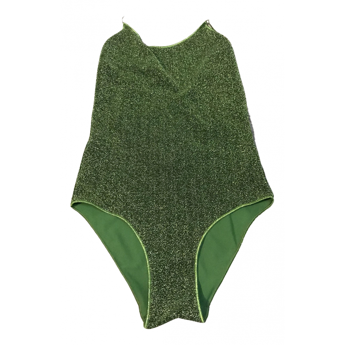 Oséree \N Green Lycra Swimwear for Women M International