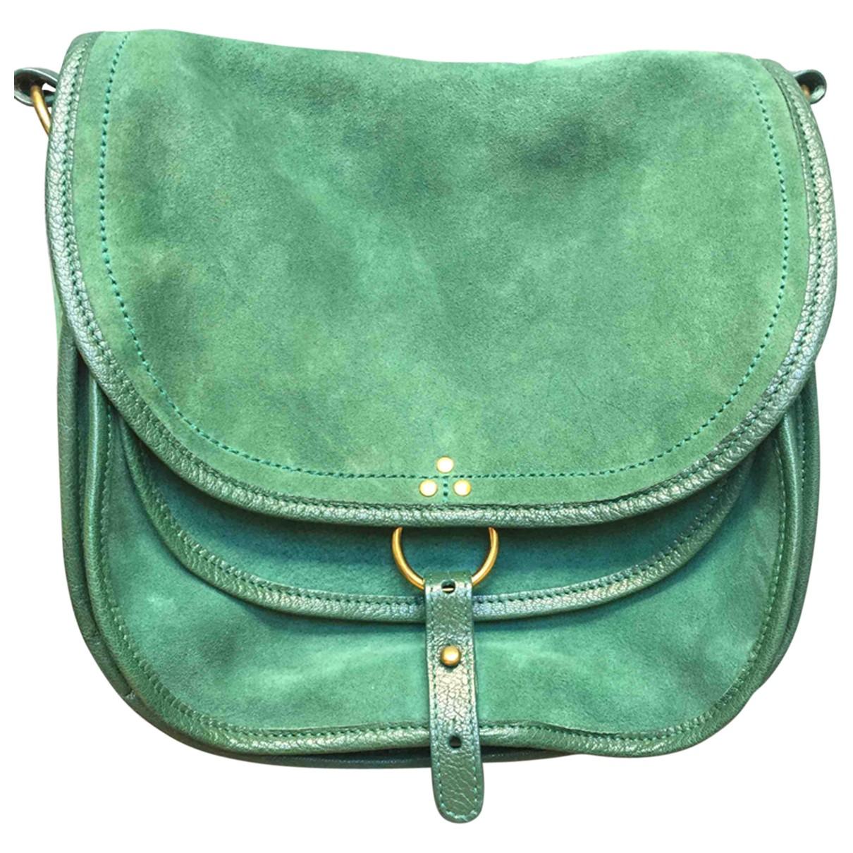 Jerome Dreyfuss N Green Suede handbag for Women N
