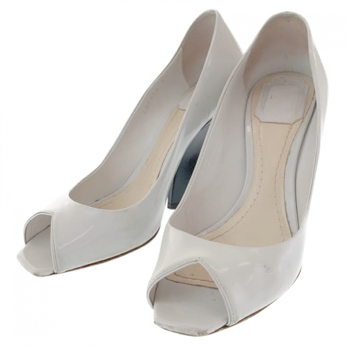 Christian Dior \N Patent leather Heels for Women 39.5 EU