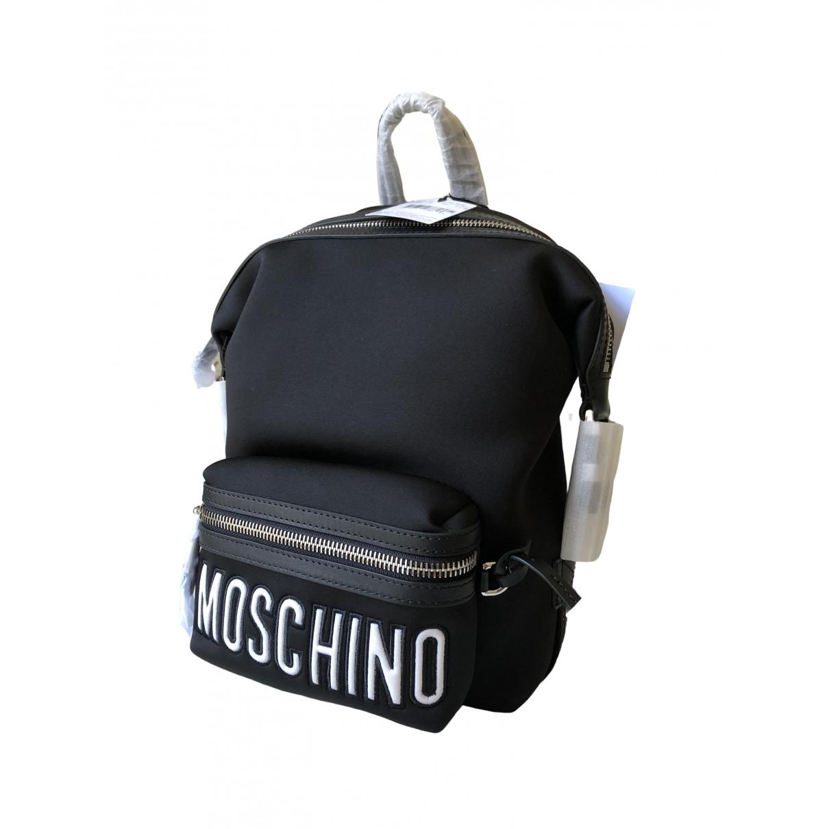 Moschino \N Black Cloth backpack for Women \N