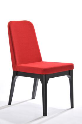 VGMAMI-274F-RED Modrest Comet Modern Red Fabric Dining