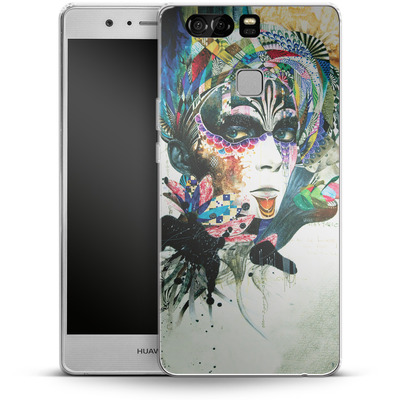 Huawei P9 Silikon Handyhuelle - Blossom Desire von Minjae Lee