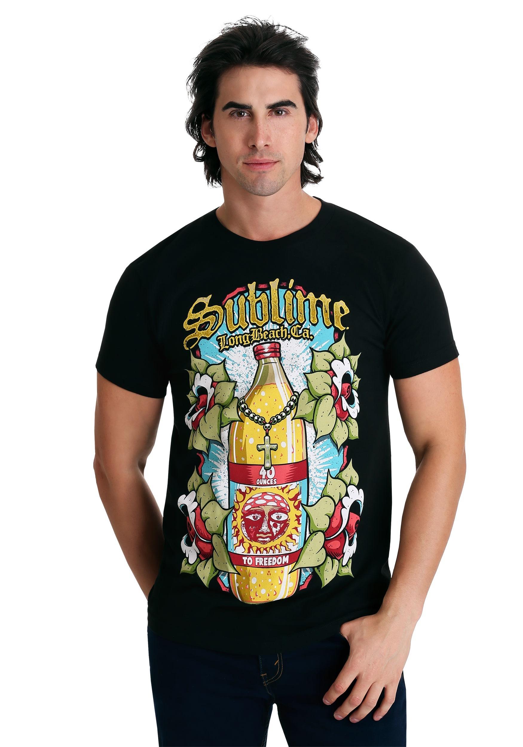 40 oz Bottle Sublime T-Shirt