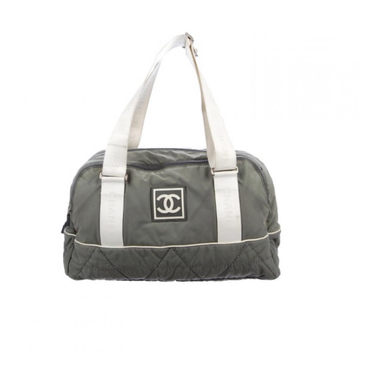 Chanel \N Grey Cotton handbag for Women \N