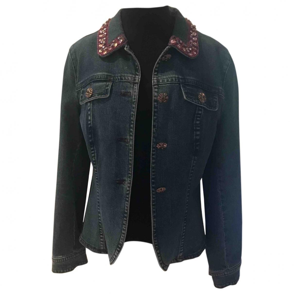 Escada \N Blue Denim - Jeans jacket for Women 44 IT