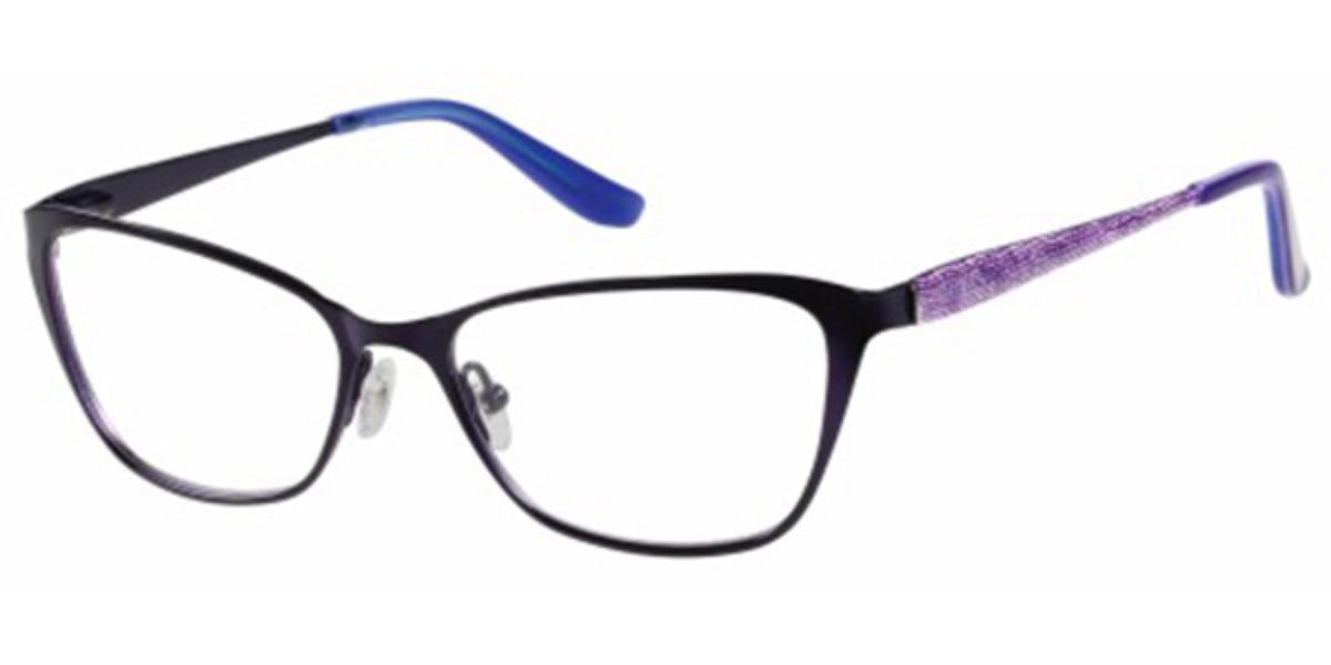 Guess GU 2425 O24 Women's Glasses Violet Size 52 - Free Lenses - HSA/FSA Insurance - Blue Light Block Available