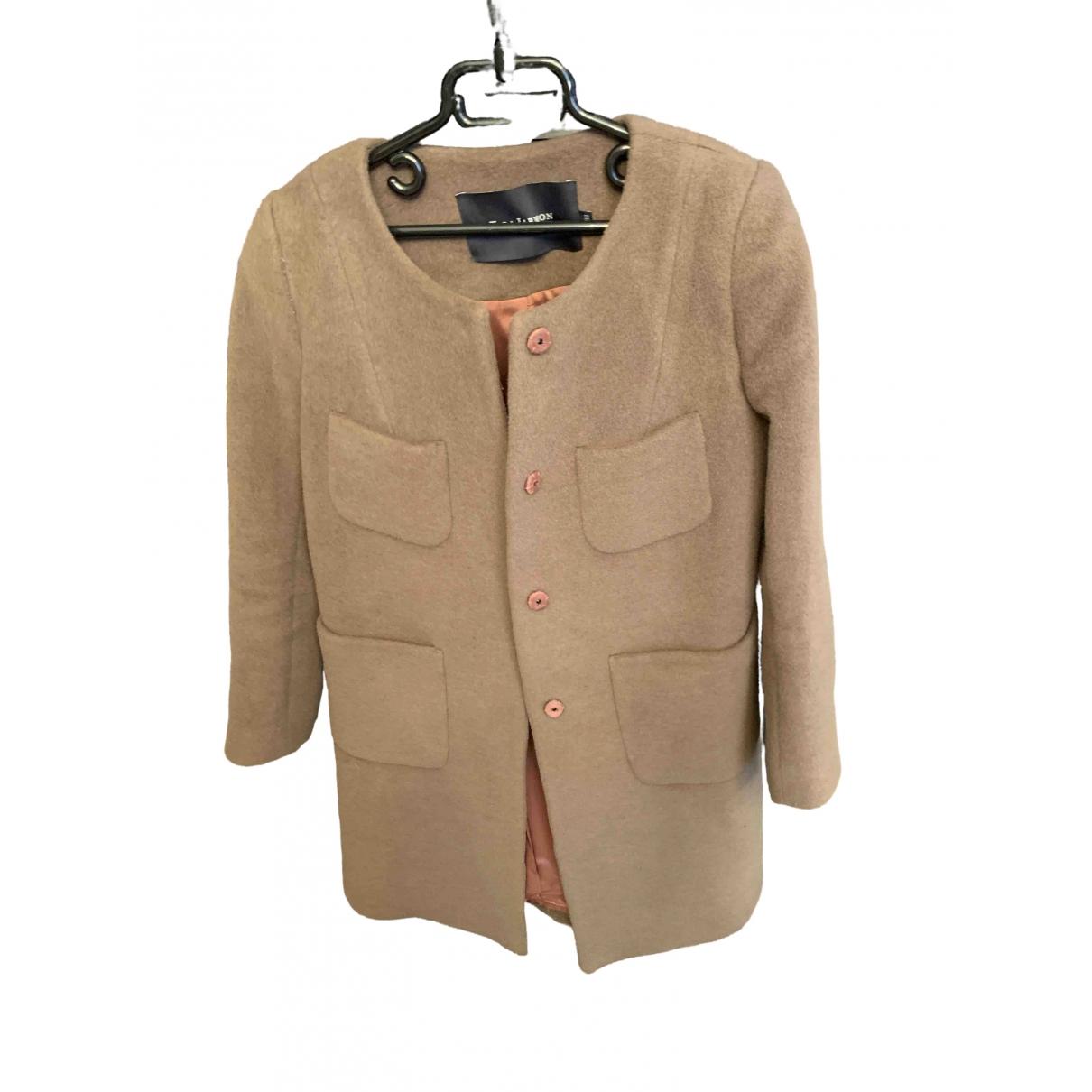 Tara Jarmon \N Brown Wool coat for Women 38 FR