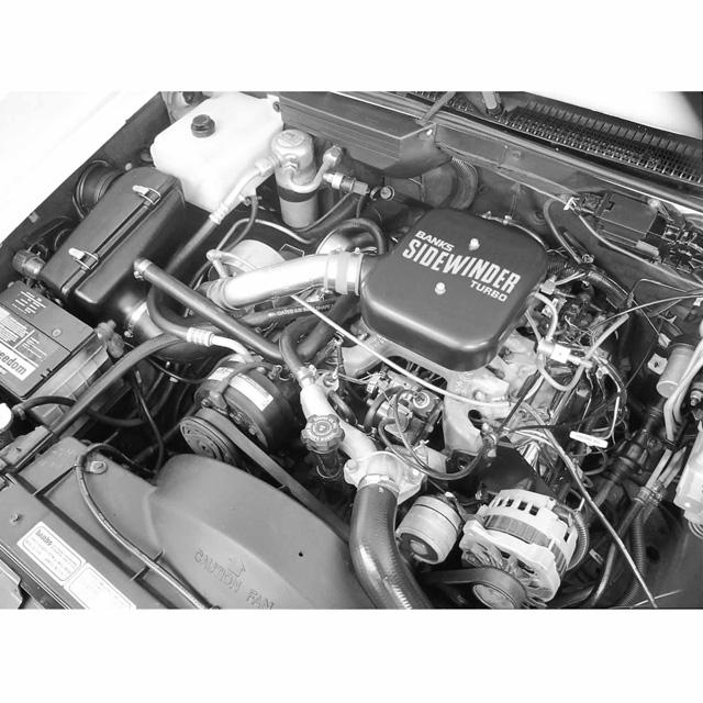 Sidewinder Turbo System 82-91 GM 6.2L Heavy Duty 2WD 4 Door Banks Power 25040