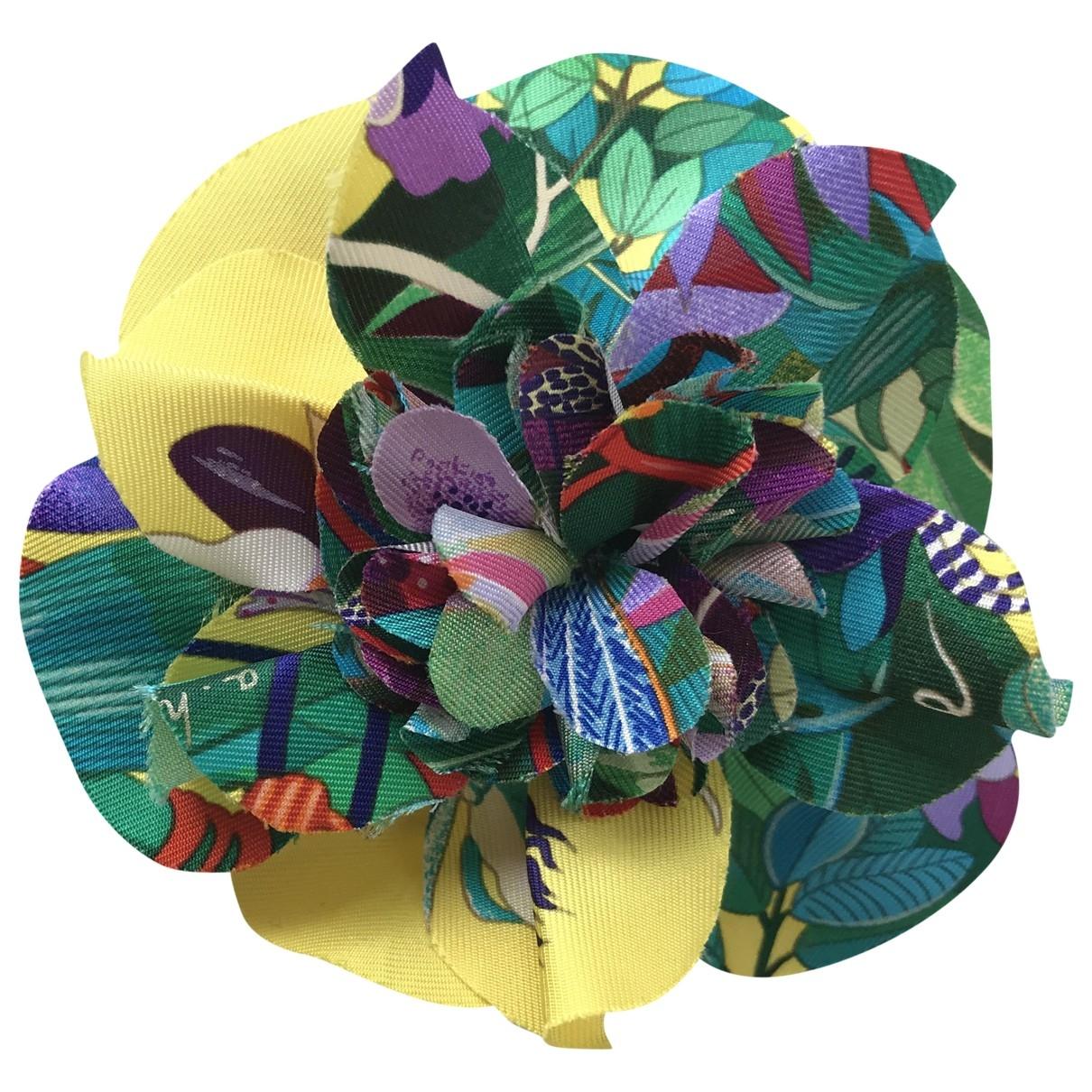 Hermès \N Multicolour Silk Hair accessories for Women \N