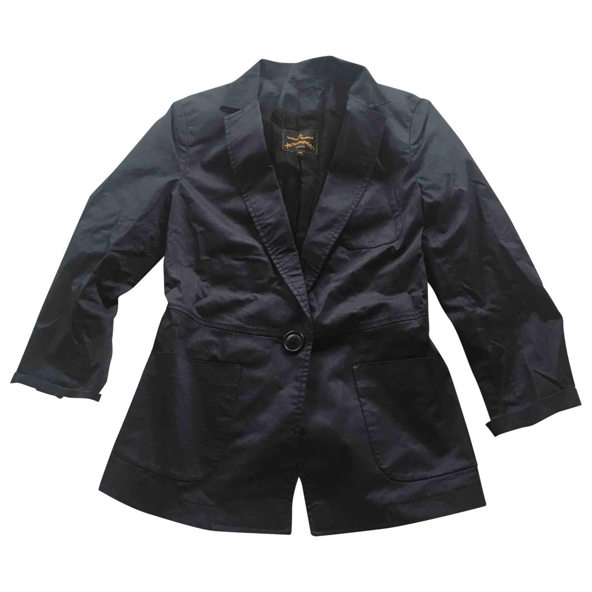Vivienne Westwood Anglomania - Veste   pour femme en coton - bleu