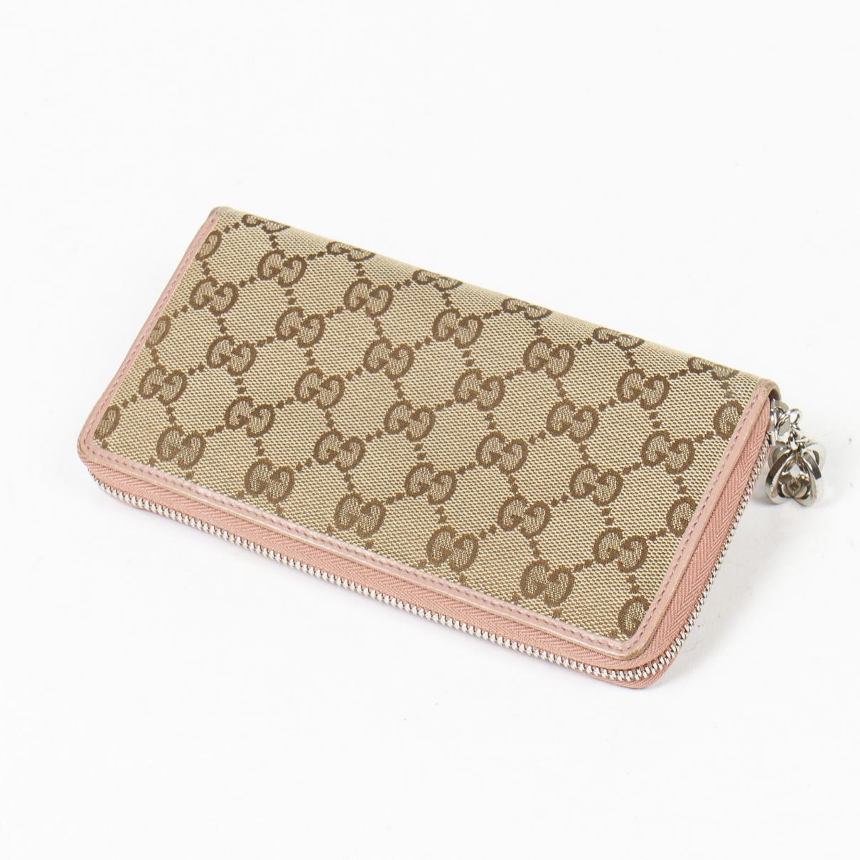 Gucci - Portefeuille   pour femme en coton