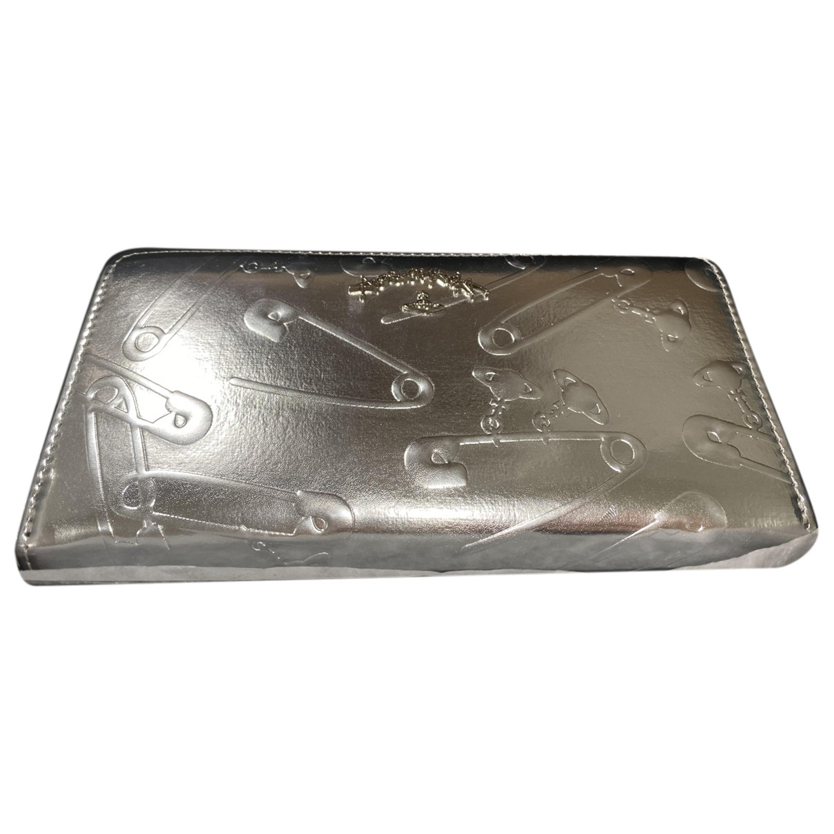 Vivienne Westwood Anglomania \N Silver Leather wallet for Women \N