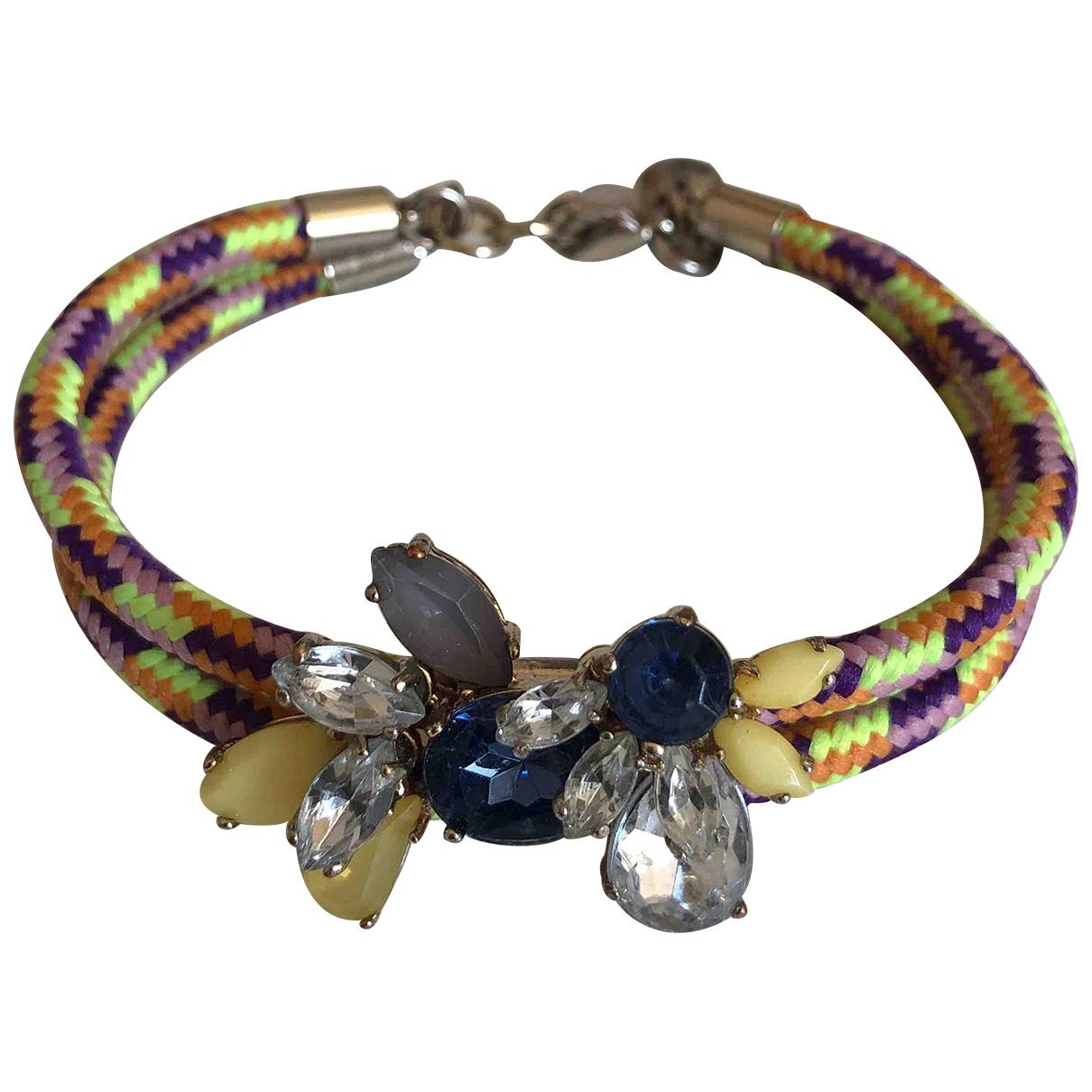 J.crew - Bracelet   pour femme en metal - multicolore