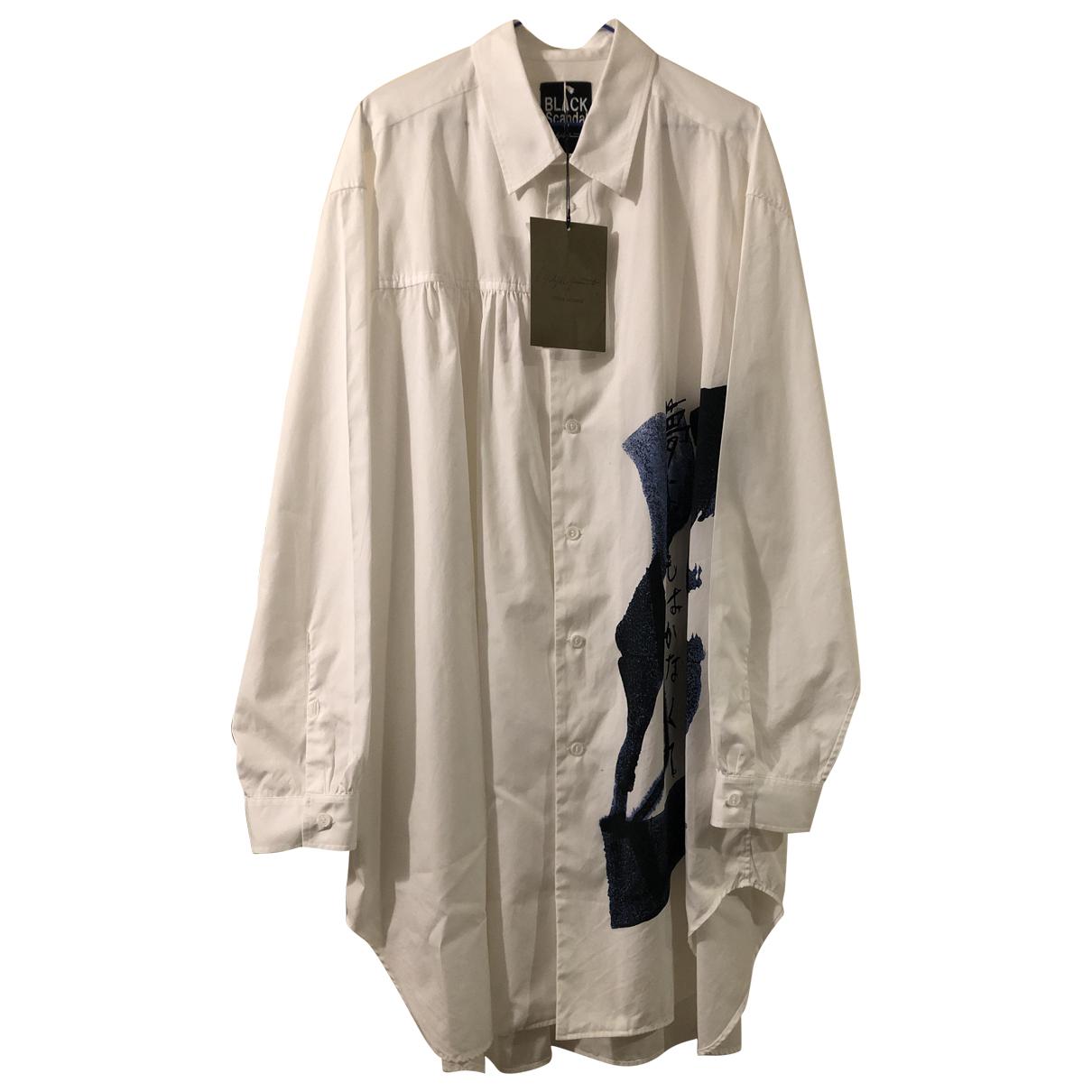 Yohji Yamamoto \N Hemden in  Weiss Baumwolle