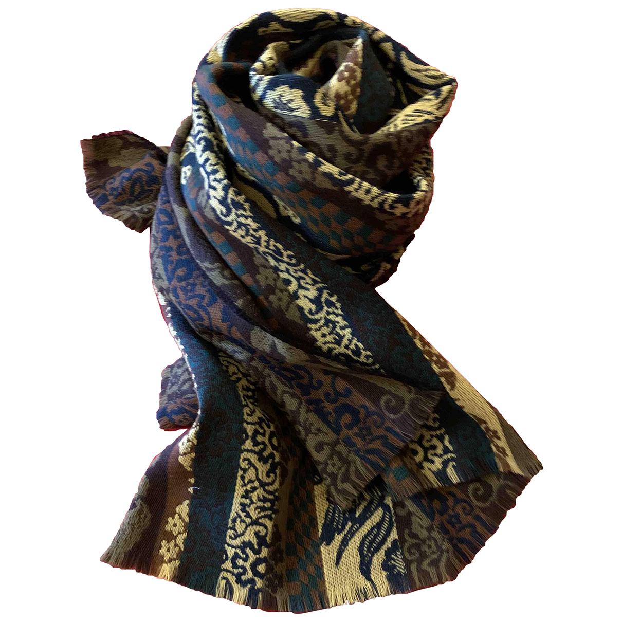 Kenzo - Foulard   pour femme en laine - multicolore