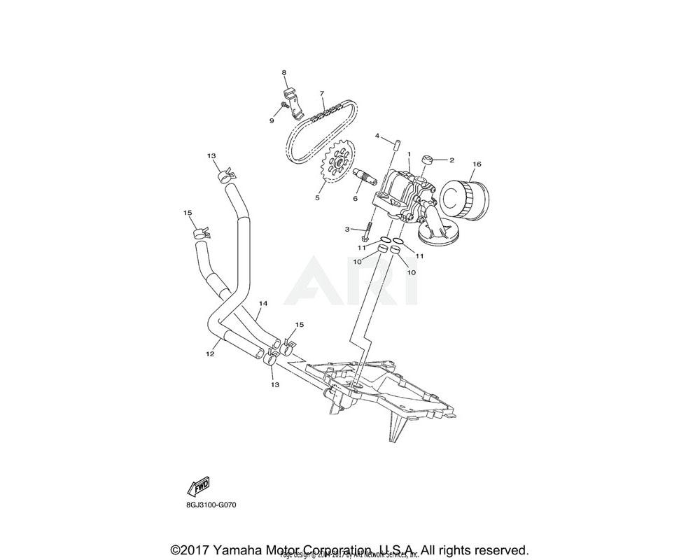 Yamaha OEM 8GC-13898-10-00 HOLDER