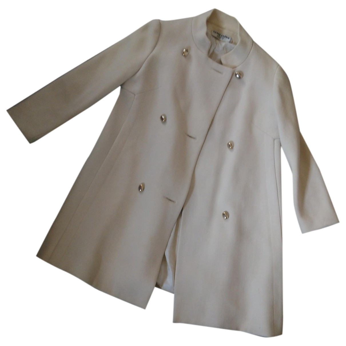 Pierre Cardin - Manteau   pour femme en laine - beige