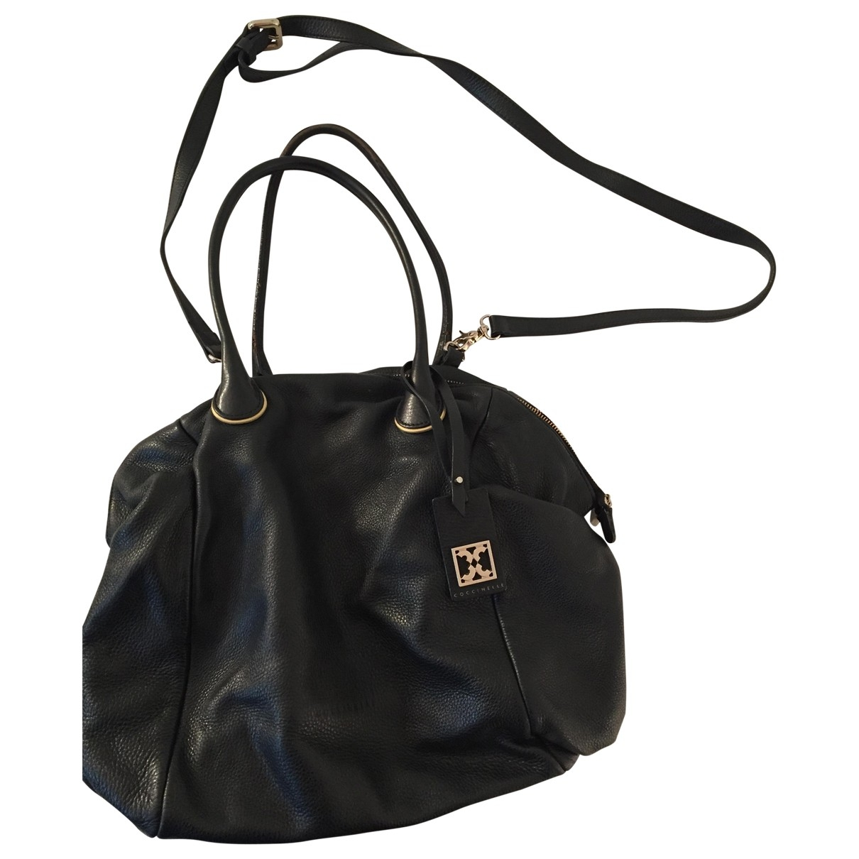 Coccinelle \N Black Leather handbag for Women \N