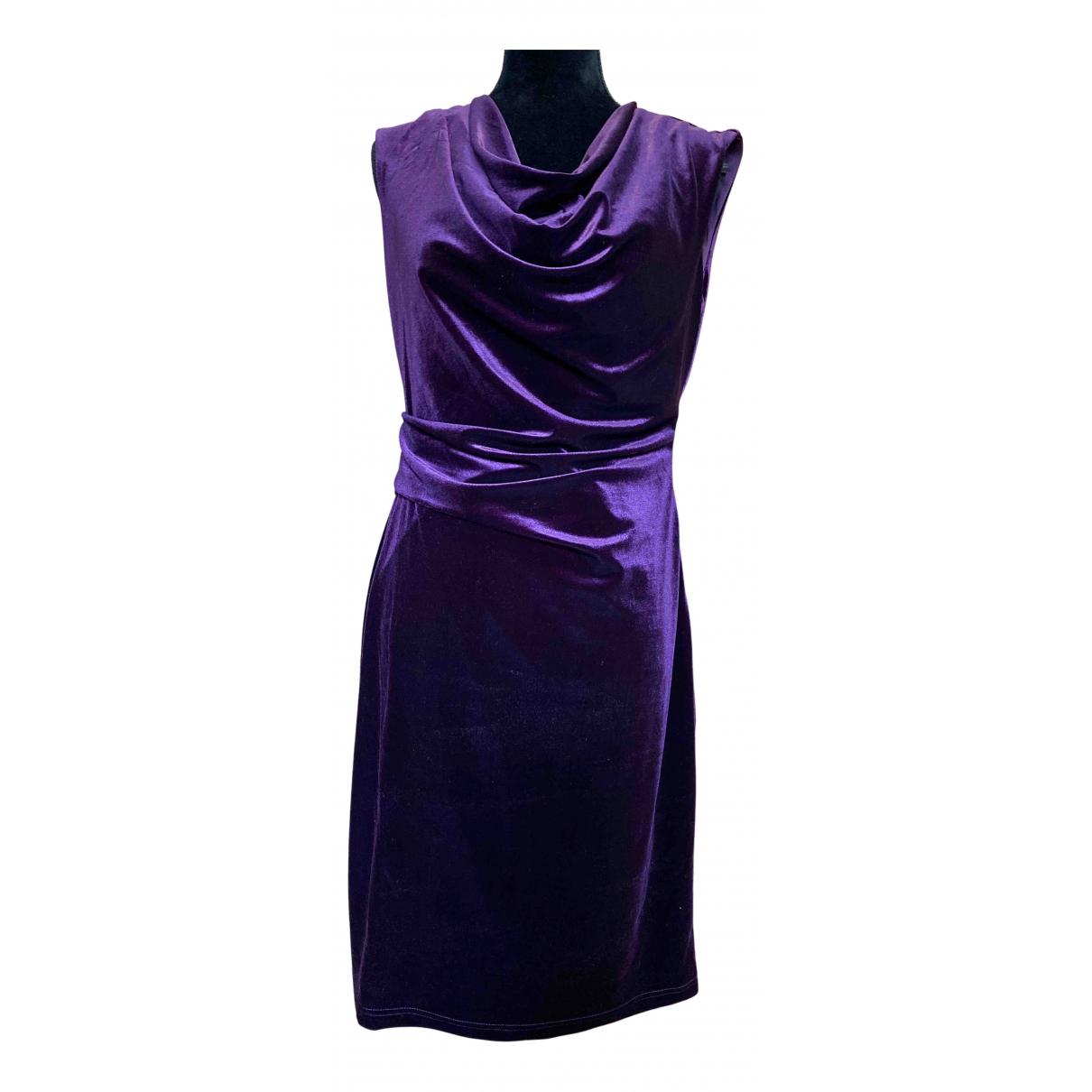 Non Signé / Unsigned N Purple dress for Women L International