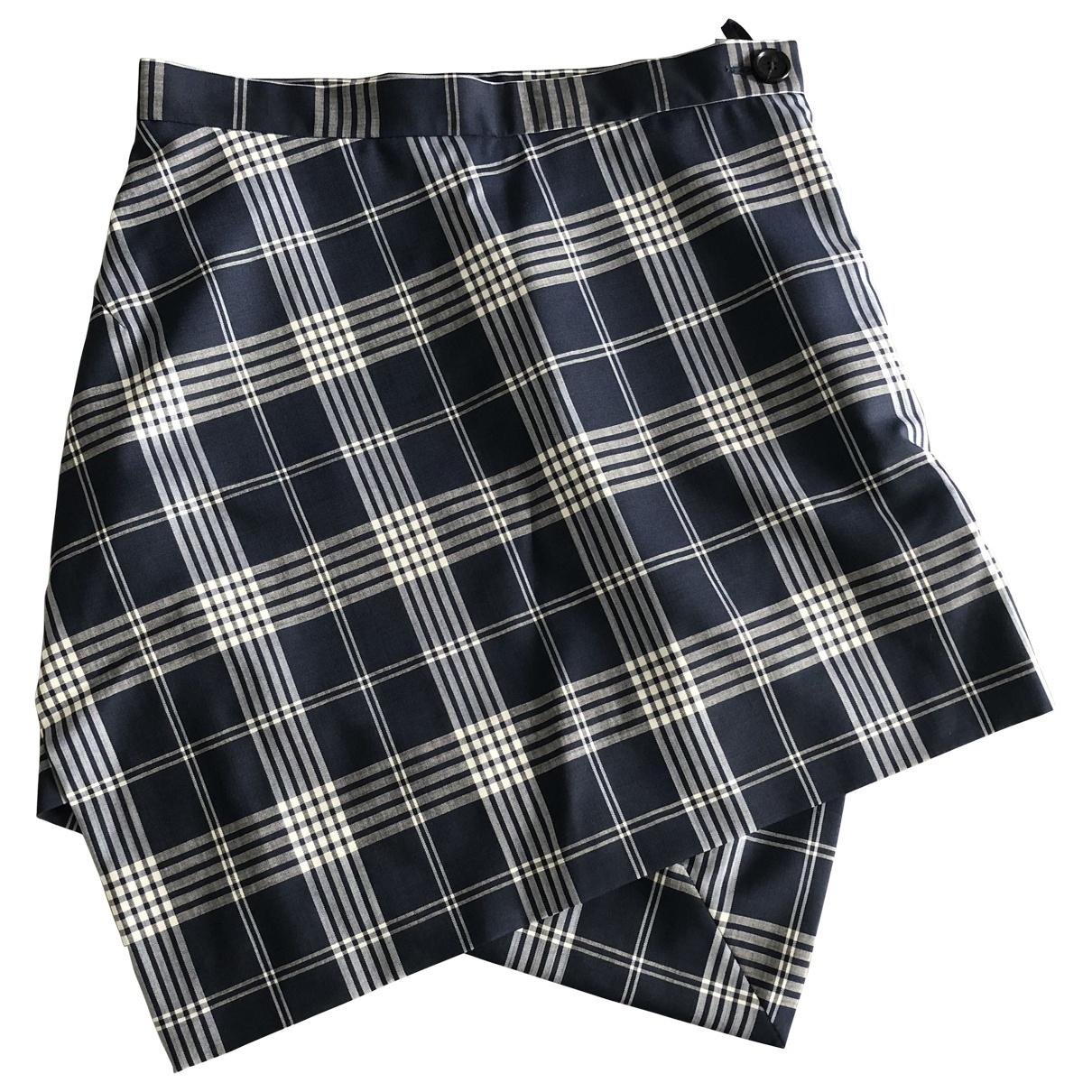 Vivienne Westwood \N Grey Wool skirt for Women 44 IT