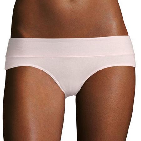 Flirtitude Knit Hipster Panty, Small , Pink