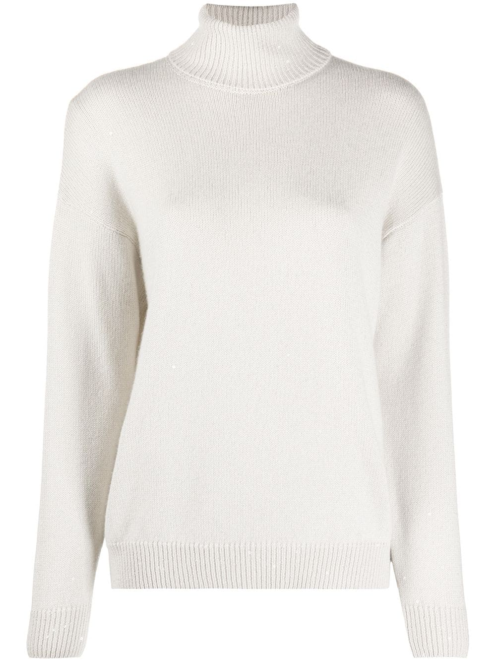 Cashmere Silk Blend Sweater