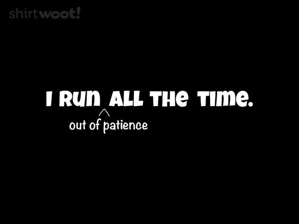 Always Running T Shirt