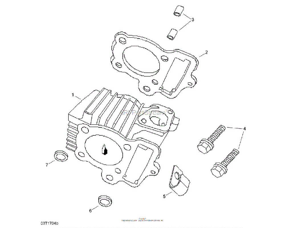 Can-AM OEM Cylinder Gasket
