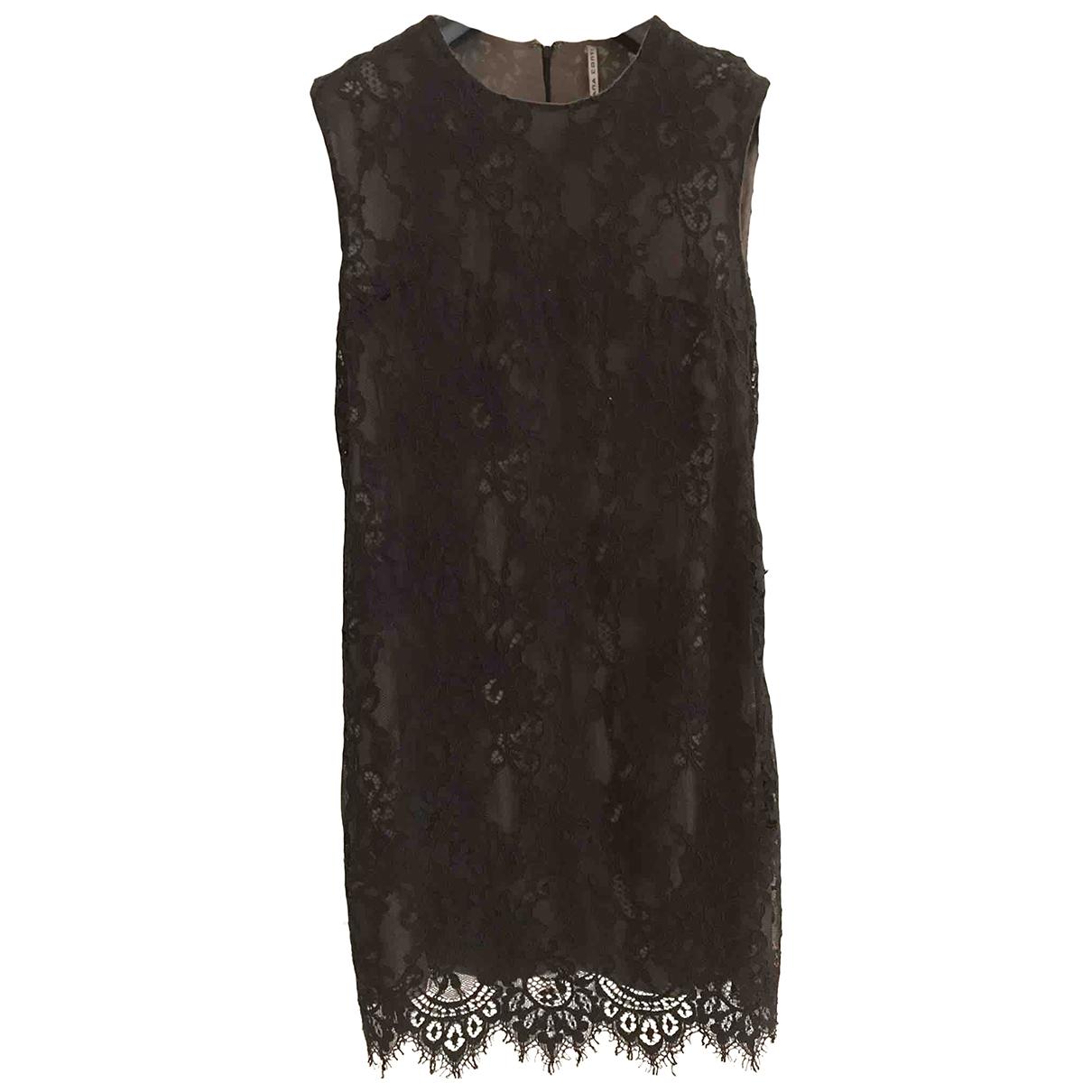 Liviana Conti - Robe   pour femme en dentelle - noir